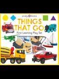 First Learning Play Set: Things That Go [With 12 Chunky Pieces]