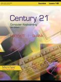 Century 21(tm) Computer Keyboarding, Lessons 1-80