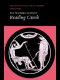Reading Greek: Teacher's Notes