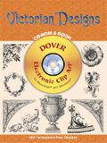 Victorian Designs CD-ROM and Book [With CDROM]