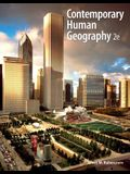 Contemporary Human Geography with Mastering Geography Student Access Code Card