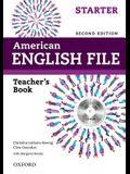 American English File 2e Starter Teachers Book: With Testing Program