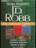 J. D. Robb CD Collection 7: Visions in Death, Survivor in Death, Origin in Death