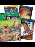 Learn-At-Home: Social Studies Bundle Grade 6: 4-Book Set