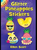 Glitter Pineapples Stickers