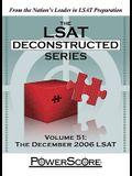 The PowerScore LSAT Deconstructed Series: Volume 51