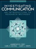 Investigating Communication: An Introduction to Research Methods (2nd Edition)