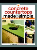 Concrete Countertops Made Simple: A Step-By-Step Guide [With DVD]