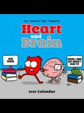 Heart and Brain 2022 Wall Calendar