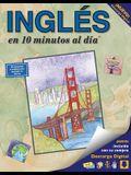 Inglés En 10 Minutos Al Día: Curso de Idiomas Para Principiantes Y Estudios Avanzados. Incluye Libro, Tarjetas Flash, Etiquetas Adhesivas, Guía del