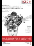 Proceedings of Iced11, Vol. 5: Design for X, Design to X