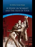 A Study in Scarlet and The Sign of Four (Dover Thrift Editions)