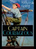 Captain Courageous (Illustrated): Adventure Novel