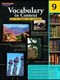 Vocabulary in Context for the Common Core Standards: Reproducible Grade 9