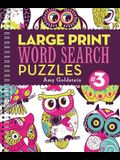 Large Print Word Search Puzzles 3, 3
