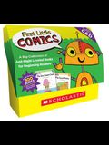 First Little Comics: Guided Reading Levels C & D (Classroom Set): A Big Collection of Just-Right Leveled Books for Beginning Readers