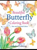 Beautiful Butterfly Coloring Book: New and Expanded Edition