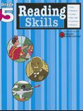 Reading Skills: Grade 5 (Flash Kids Harcourt Family Learning)
