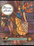 Steamy Ladies: A Steampunk Coloring Book