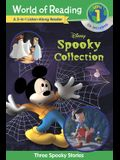 World of Reading Disney's Spooky Collection 3-In-1 Listen-Along Reader (Level 1 Reader): 3 Scary Stories with CD!