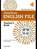 American English File 2e 4 Teacher Book: With Testing Program