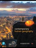 Contemporary Human Geography Plus Mastering Geography with Pearson Etext -- Access Card Package [With eBook]