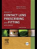 Manual of Contact Lens Prescribing and Fitting [With CDROM]
