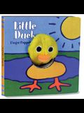 Little Duck: Finger Puppet Book: (Finger Puppet Book for Toddlers and Babies, Baby Books for First Year, Animal Finger Puppets) [With Finger Puppet]