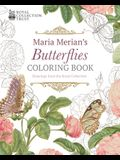 Maria Merian's Butterflies Coloring Book: Drawings from the Royal Collection