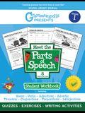 The Parts of Speech Workbook, Grade 1