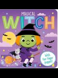 Magical Witch: A Finger Puppet Board Book