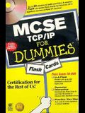 MCSE TCP/IP For Dummies Flash Cards (For Dummies (Computers))