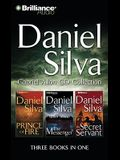 Gabriel Allon Collection: Prince of Fire, the Messenger, the Secret Servant