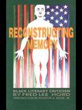 Reconstructing Memory: Black Literary Criticism