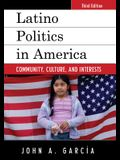 Latino Politics in America: Community, Culture, and Interests, Third Edition