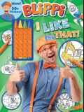 Blippi: I Like That!: Blippi Coloring Book with Crayons [With 50+ Stickers]