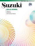 Suzuki Cello School, Vol 4: Cello Part, Book & CD
