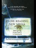 Close Reading New Media: A Politics of Dissensus