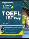 Princeton Review TOEFL IBT Prep with Audio CD, 2020: Practice Test + Audio CD + Strategies & Review