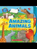 Amazing Animals: A Spin & Spot Book: A Spin & Spot Book