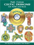 Full-Color Celtic Designs [With CDROM]