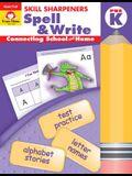 Skill Sharpeners Spell & Write Grade Pre-K