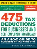 475 Tax Deductions for Businesses