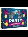 Party Animals! 10 Pop-Up Notecards & Envelopes