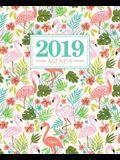 Agenda 2019: 19x23cm: Agenda 2019 Semainier Fran