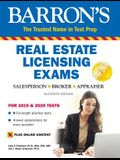 Barron's Real Estate Licensing Exams with Online Digital Flashcards