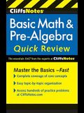 Cliffsnotes Basic Math & Pre-Algebra Quick Review, 2nd Edition