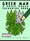 Green Man and Green Woman: Colouring Book