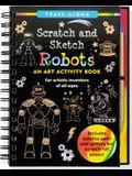Scratch & Sketch Robots (Trace-Along)