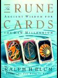 The Rune Cards: Ancient Wisdom for the New Millennium [With Book 191 Pgs]